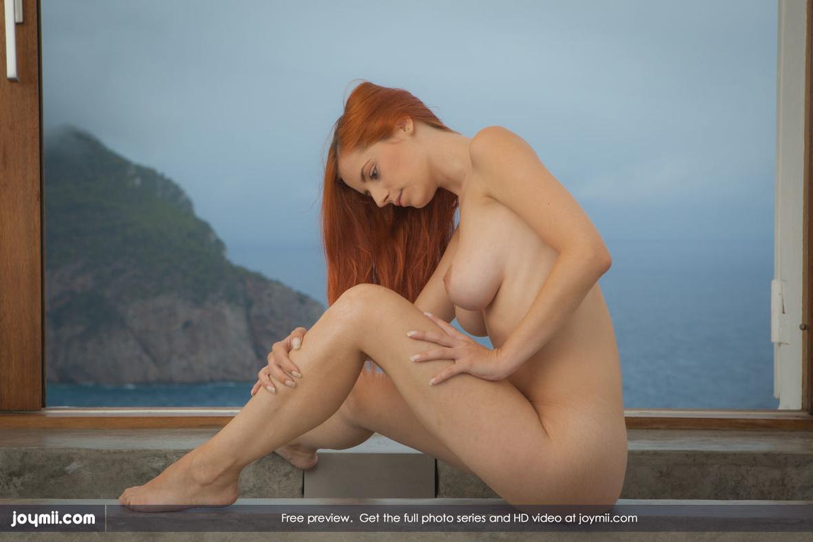image Hot girl in red bikini cheats outdoor amateur